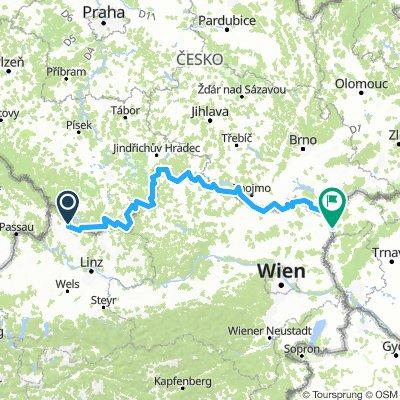 Vasfüggöny-útvonal / EuroVelo13 - Iron Curtain Trail / Austria