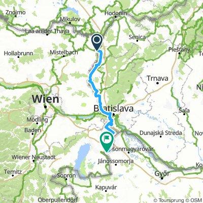 Vasfüggöny-útvonal / EuroVelo13 - Iron Curtain Trail / Slovakia