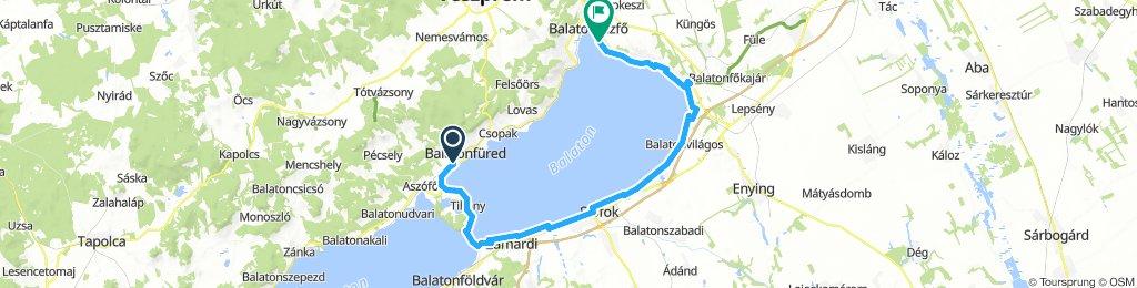 Steady ride in Balatonfüred