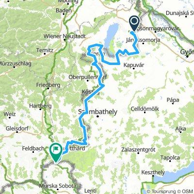 Vasfüggöny-útvonal / EuroVelo13 - Iron Curtain Trail / Hungary