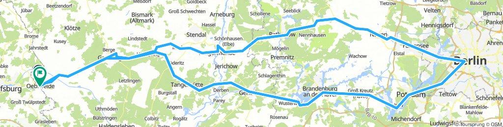 Vasfüggöny-útvonal / EuroVelo13 - Iron Curtain Trail / Berlin