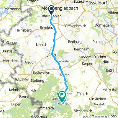 Rheindahlen - Jülich - Heimbach