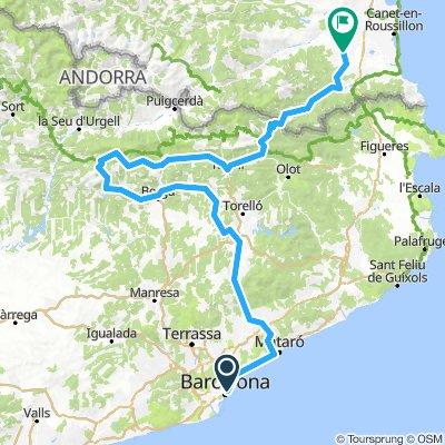 Retour Barcelon - Vic - Thuir