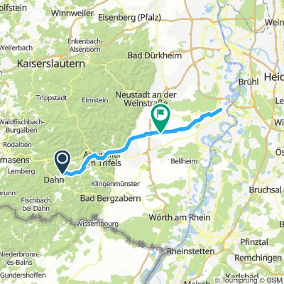 Erfweiler - Speyer