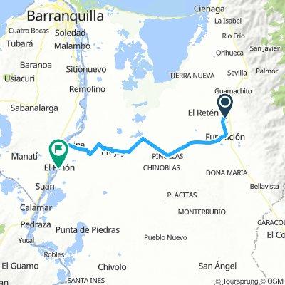 7. Aracataca - El Pilon