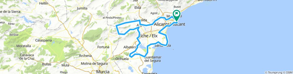 Brevet Randonneur 200K Alicante 2019 (Sur)