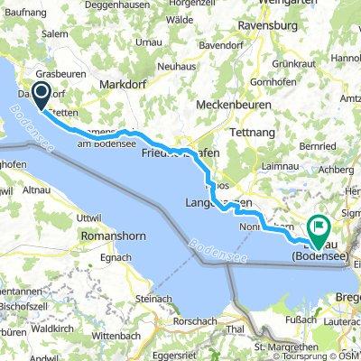 BodenseeTag4 von Meersburg nach Lindau