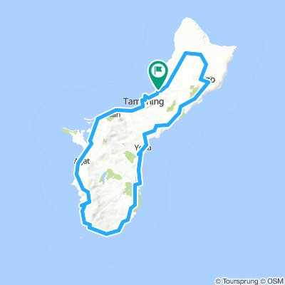 Around Guam Island