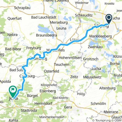 Leipzig-Paunsdorf - Jena