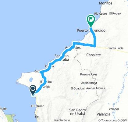 11. Necocli - Puerto Escondido