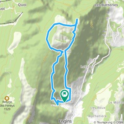 Plateau de Sornin - Dent du Loup