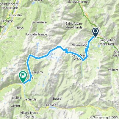 3Saint-Jean-de Maurienne - Allemond (Camping les Bouleaux)