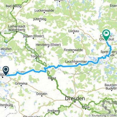 Leipzig-Paunsdorf - Cottbus