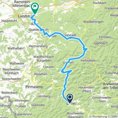 Dahn-Hinterweidental-Johanniskreuz-Kindsbach