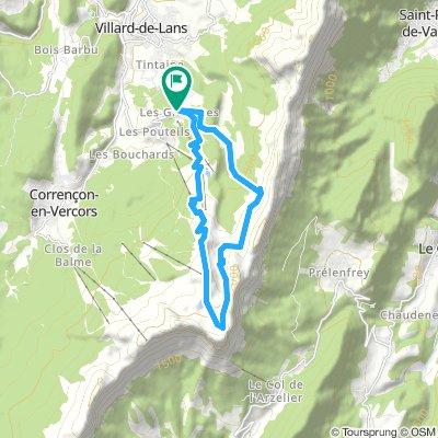 Les Rochers des Jaux 2062 m, traversée depuis la Croix des Glovettes – Villard-de-Lans