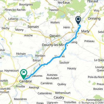 2aS Valenciennes - Cambrai