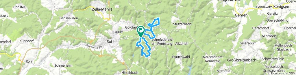 1.3. Skitour Adlersberg, Eisenberg, Finsterberg