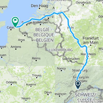 Q / Basel to Dunkirk
