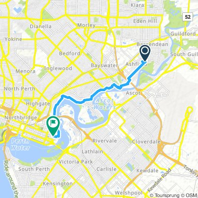 Bassendean to East Perth