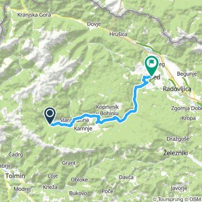 Ukanc - Bled 35.8km