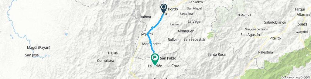 Stage 2 Patia - La Unión, Nariño