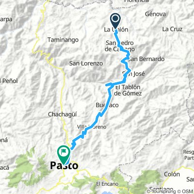 Stage 3 La Unión - Pasto