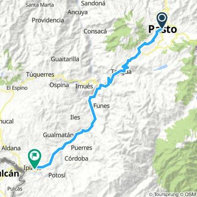 Stage 4 Pasto - Ipiales