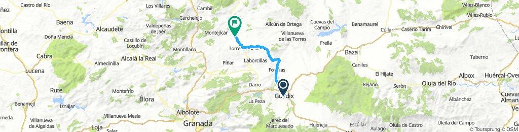 Guadix-Guadahortuna 29 Marzo