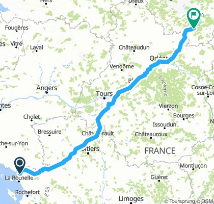 Франция 2019 Paul van Bike