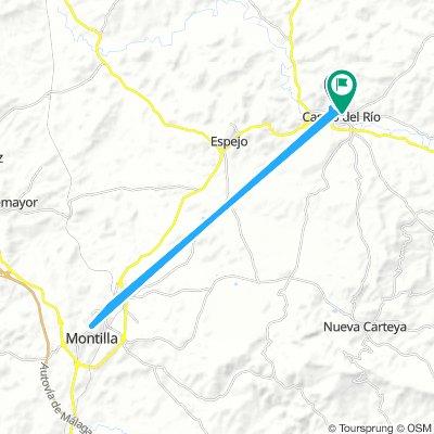 Camino Montilla-Castro del Río
