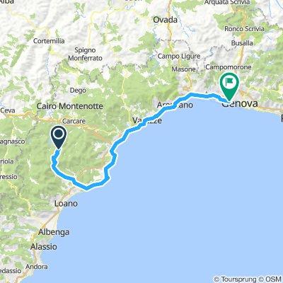 Bormida - Genova