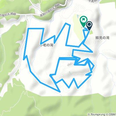 滝野キツツキコース16km