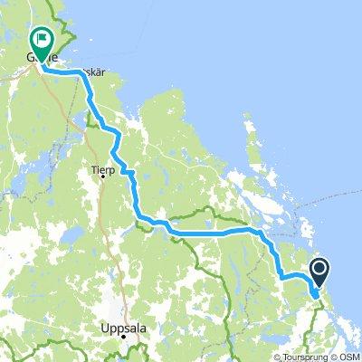 Tag 10 _ Väddö - Gävle 165 KM