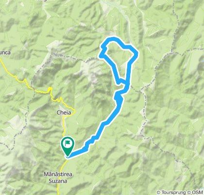 1 munte - tura medie Cheia MTB Challenge 2020