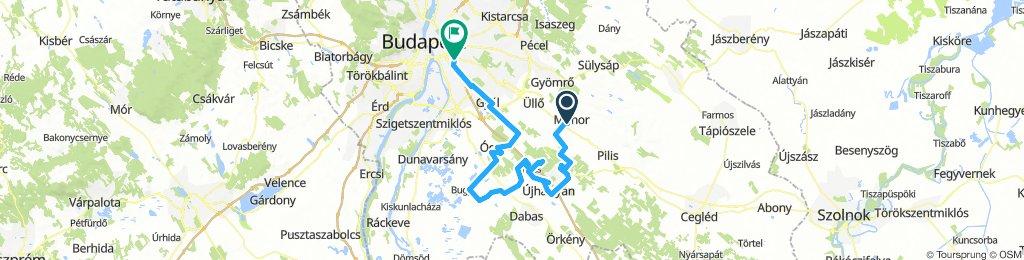 Ócsai tájakon - Kerékpártúrák Budapest környékén #1