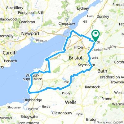 103 miles
