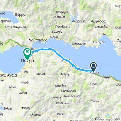 Krathio to Patras Galaxy city center hotel
