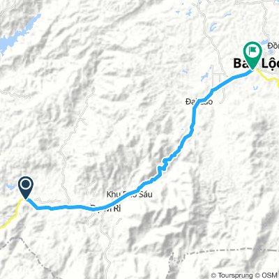 Moderate route in H. Di Linh