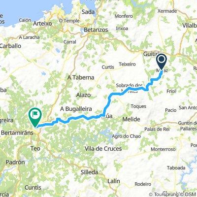 11 Miraz - Santiago de Compostela km 85