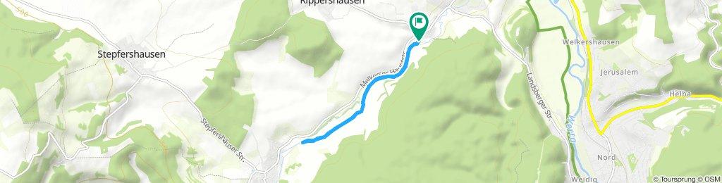 Gemütliche Route in Rippershausen