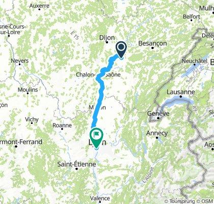 Abergement la ronce /Lyon 7  jours