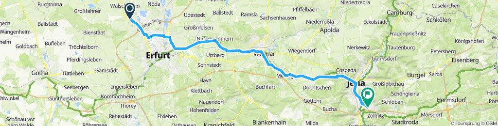 Elxleben - Jena