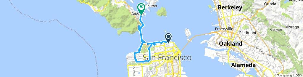 San Francisco Journée Vélo Vendredi 26 Juillet 2019