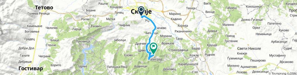 Skopje - Planinarski Dom Kitka