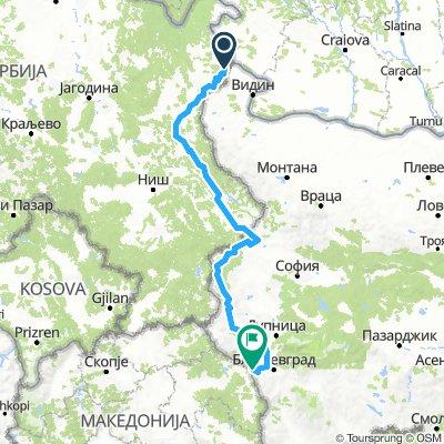 Vasfüggöny-útvonal / EuroVelo13 - Iron Curtain Trail / Bulgaria