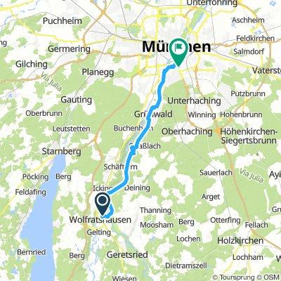 Wolfratshausen-München