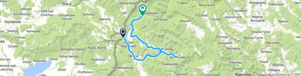 Čornoholova-Veľký Berezny 1.deň