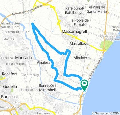 Ruta 25 km