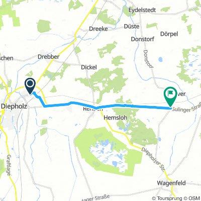 Gehlker Barver Route