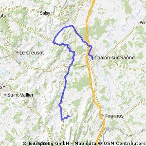 idee 2010 burgund: 3b - chalon - canal du centre - voie verte - chapaize